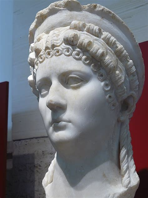 Portrait of Julio-Claudian Empress thought to be Poppea Sa