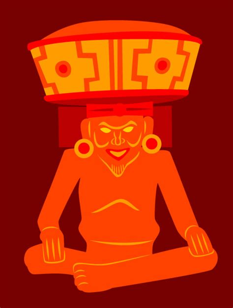Huehueteotl   Aztec god of the hearth and the fire of life