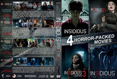 Insidious Collection DVD Cover | Cover Addict - Free DVD