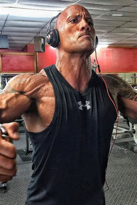 Rock Out: Here's The Rock's Workout Playlist