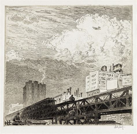 Rare Martin Lewis Etching Debuts in Fall 2019 Prints