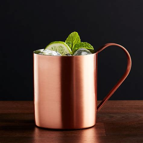 Moscow Mule Copper Mug + Reviews | Crate and Barrel