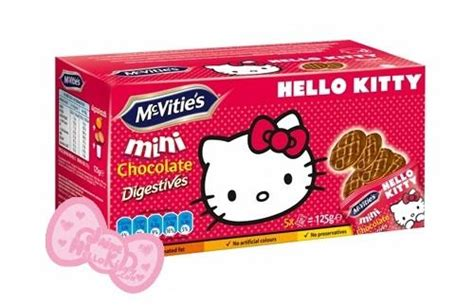 Les biscuits Mc Vitie's mini Hello Kitty - Paperblog