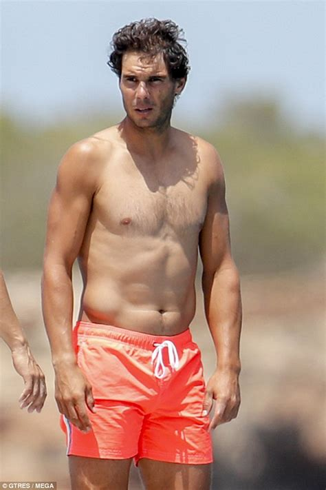 PHOTOS: Rafael Nadal joined by friends on holiday in Spain