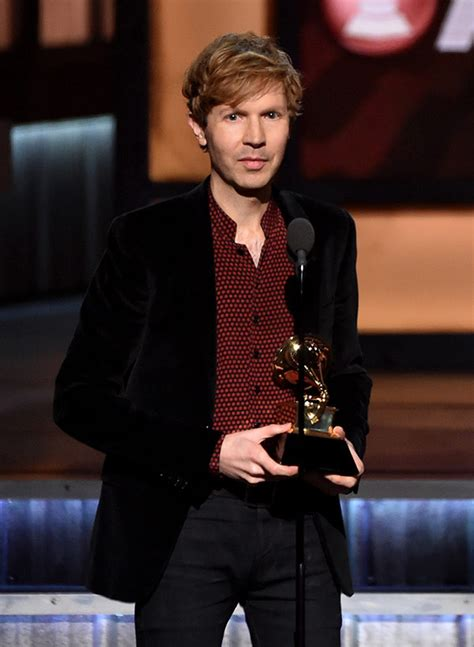 Beck Wins Grammy For Album Of The Year: Beck Wins For