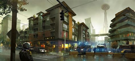Infamous: Second Son Gets Beautiful New Concept Art