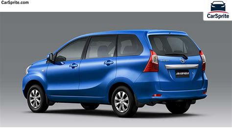 Toyota Avanza 2017 prices and specifications in Bahrain
