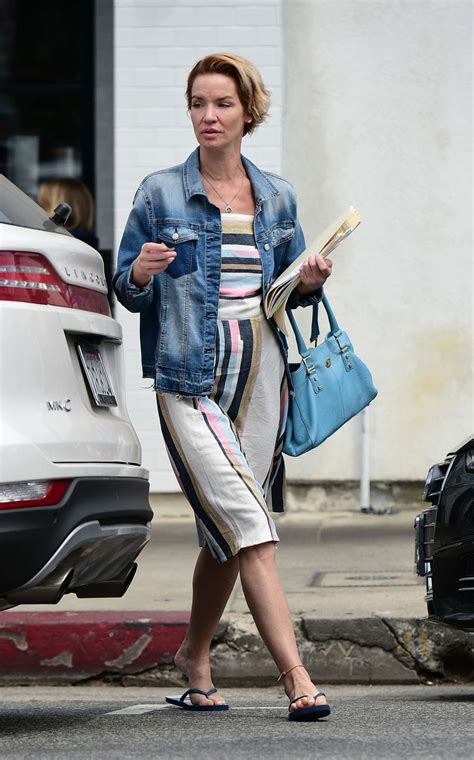 Ashley Scott – Out for lunch in Los Angeles   GotCeleb