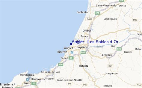 Anglet - Les Sables d'Or Surf Forecast and Surf Reports