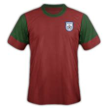 Asie maillots de football - zone AFC