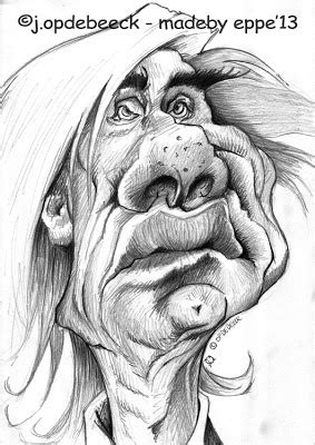 Mike Eppe - caricature illustration: Learn sketching with