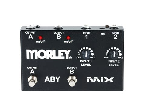 Morley Morley ABY Router With Leds And Mix - Long