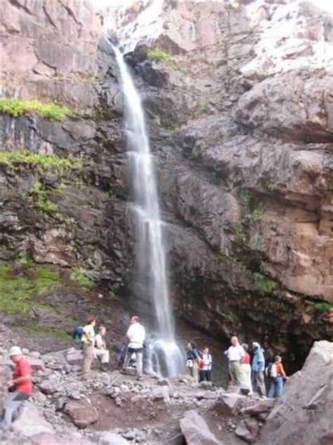 Photographs of Waterfalls in the Atlas Mountains: Cascades