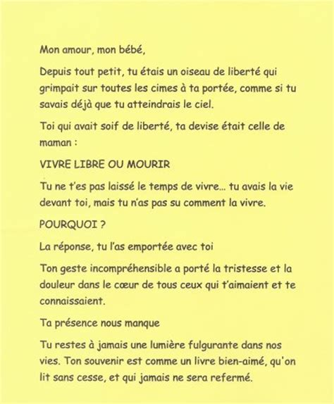 poeme a son fils