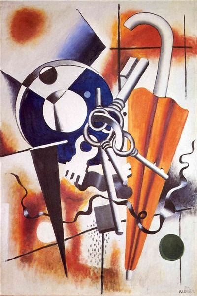 The Composition with the umbrella, 1932 - Fernand Leger