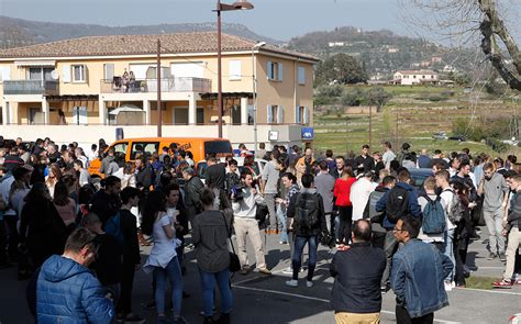 Grasse school shooting: Teenager armed with guns and