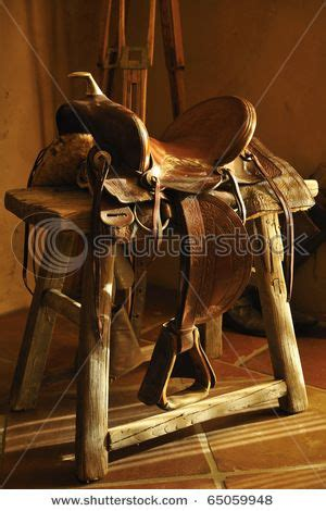 there will be a saddle as decoration in my house