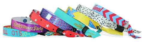 Fabric Wristbands For Events & Festivals - Fast UK