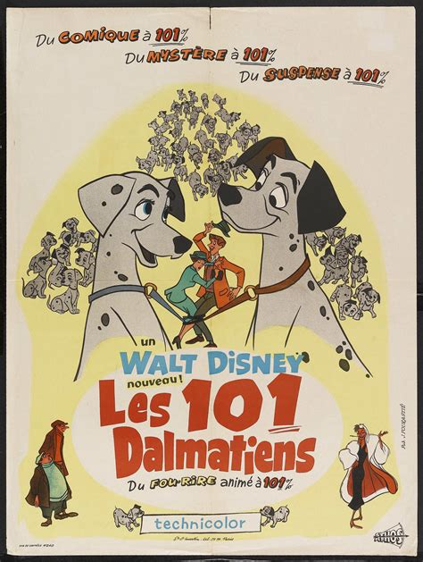 Les 101 dalmatiens (One Hundred and One Dalmatians)