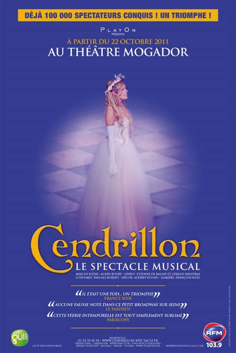 Cendrillon, le spectacle musical: le spectacle