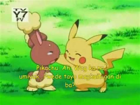 Pikachu Made Buneary Cry (tagalog subbed) - YouTube