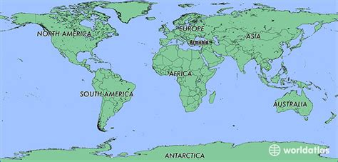 Where is Armenia? / Where is Armenia Located in The World