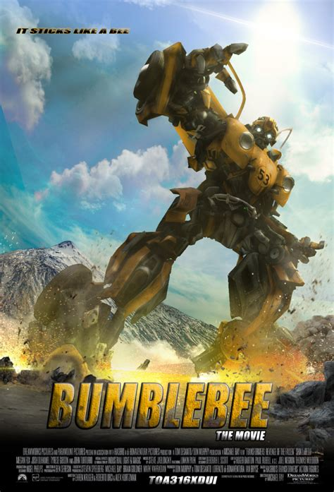 ArtStation - (POSTER THE SPIN OFF OFFICIAL BUMBLEBEE ) FAN