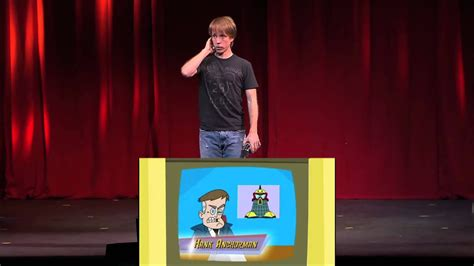 The voice of Johnny Test doing it Live! - YouTube