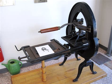 Antique Printing Press   At Courier in Westford   Flickr