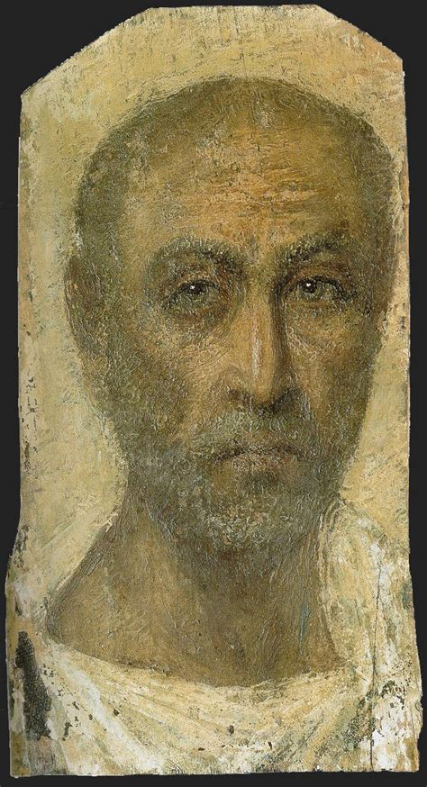 One Objectivist's Art Object of the Day: Seven Fayum Mummy