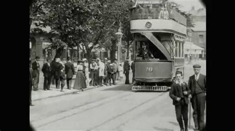 May 28, 1903 - Tour along the new electric tram in Lytham