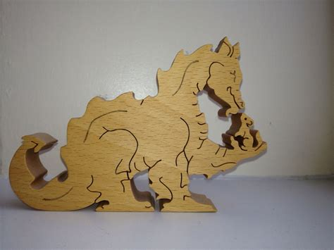 Dragon & Mouse | Scroll saw, Scroll saw patterns, Wooden
