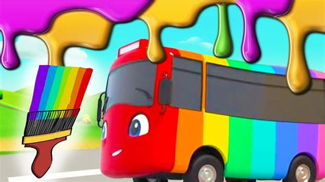 Learning Colors For Kids   Buster Changes Color   Go