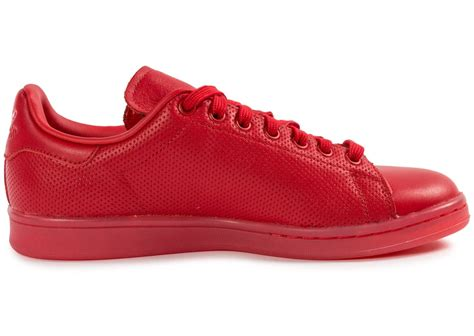 adidas Stan Smith Adicolor rouge - Chaussures Baskets