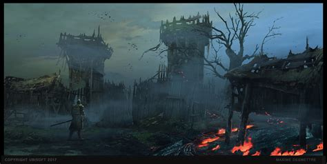 For Honor Concept Art by Maxime Desmettre | Concept Art World