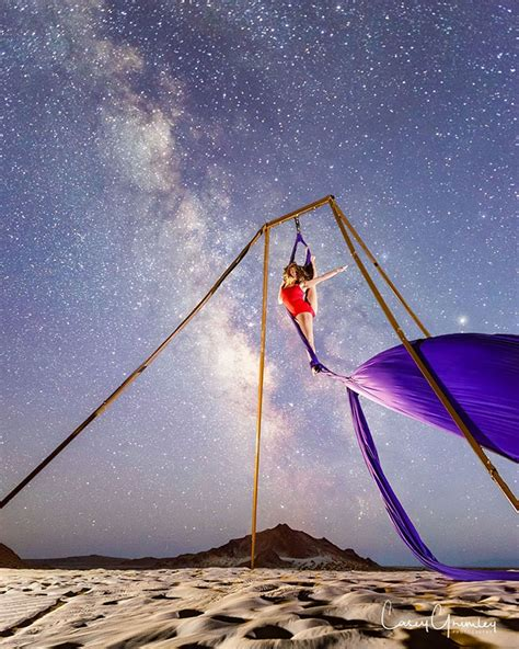 """""""Dancing With The Stars"""": Stunning Images Of Aerial"""