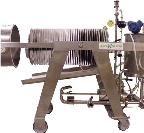 Beer Brewing Filters | Manual Discharge D
