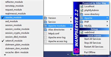 how to install magento in wamp - Apache Config, creating