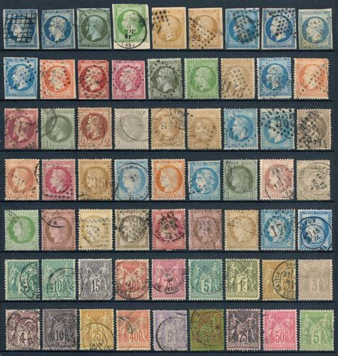 France - 1849/1900 Collection timbres classiques - Catawiki