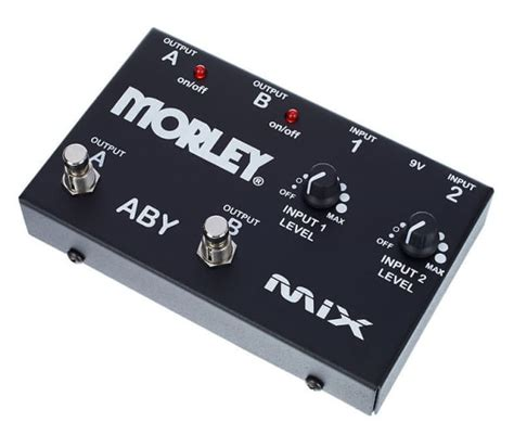 Morley ABY Mix Guitar Mixer Switcher Pedal   Reverb