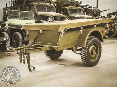 Remorque Willys 1/4 Ton – INDIANCARS JEEP