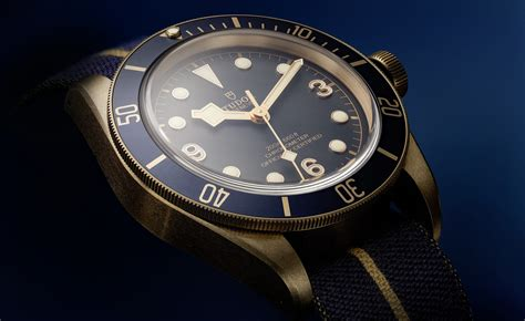 Heritage Black Bay Bronze Blue – TUDOR is now a part of