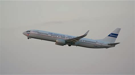 """United Airlines """"Continental Retro Jet"""" Boeing 737-900ER"""