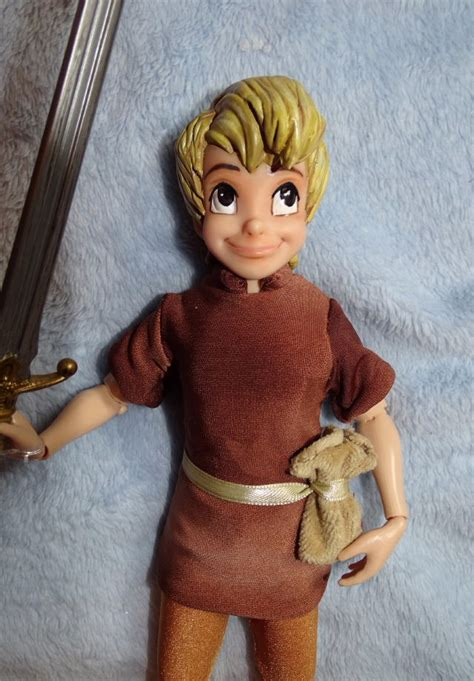 """Arthur/Wart from The Sword in the Stone 10"""" Doll!!"""