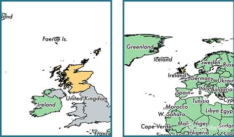 Where is Scotland country? / Where is Scotland Located in