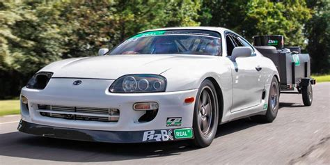 Quickest Street-Legal Supra on Earth - Supra Drag Car With