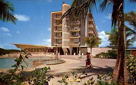 Hotel Ponce Intercontinental (1960's) Ponce, Puerto Rico