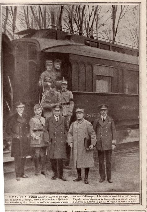 Armistice, 1918 - Both Sides at the Railway Carriage