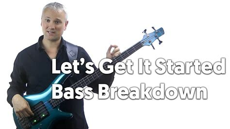 Let's Get it Started Black Eyed Peas: Bass Tab and Bass