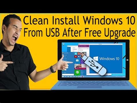 How To Clean Install Windows 10 From USB After Free